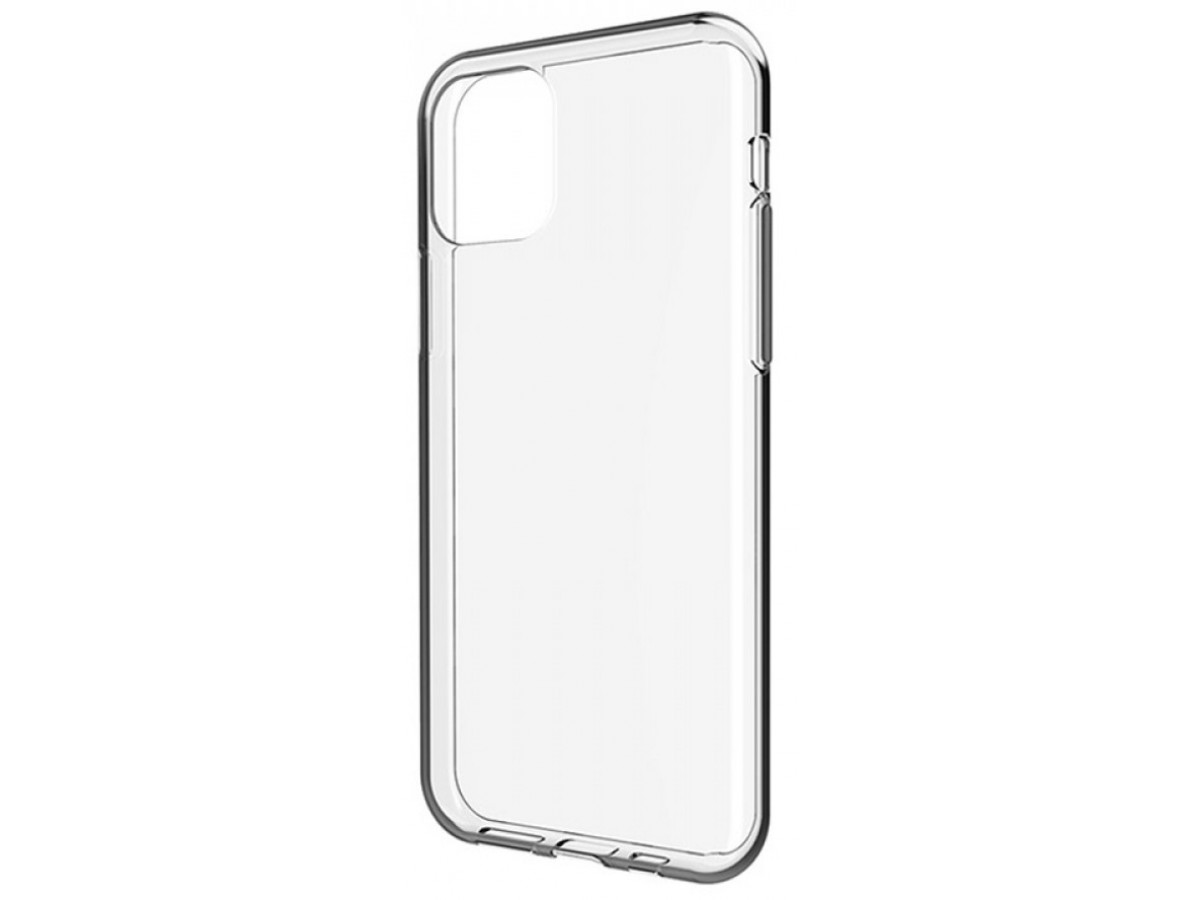 Чехол прозрачный для iPhone 11 Pro Max силиконовый в Тюмени