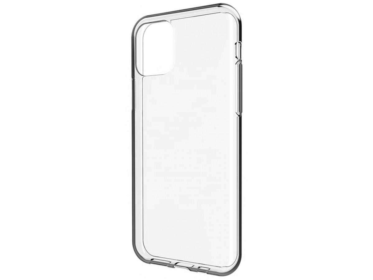 Чехол прозрачный для iPhone 11 Pro силиконовый в Тюмени
