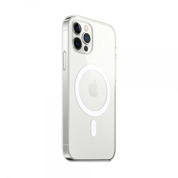 Чехол прозрачный MagSafe для iPhone 12/12 Pro силиконовый