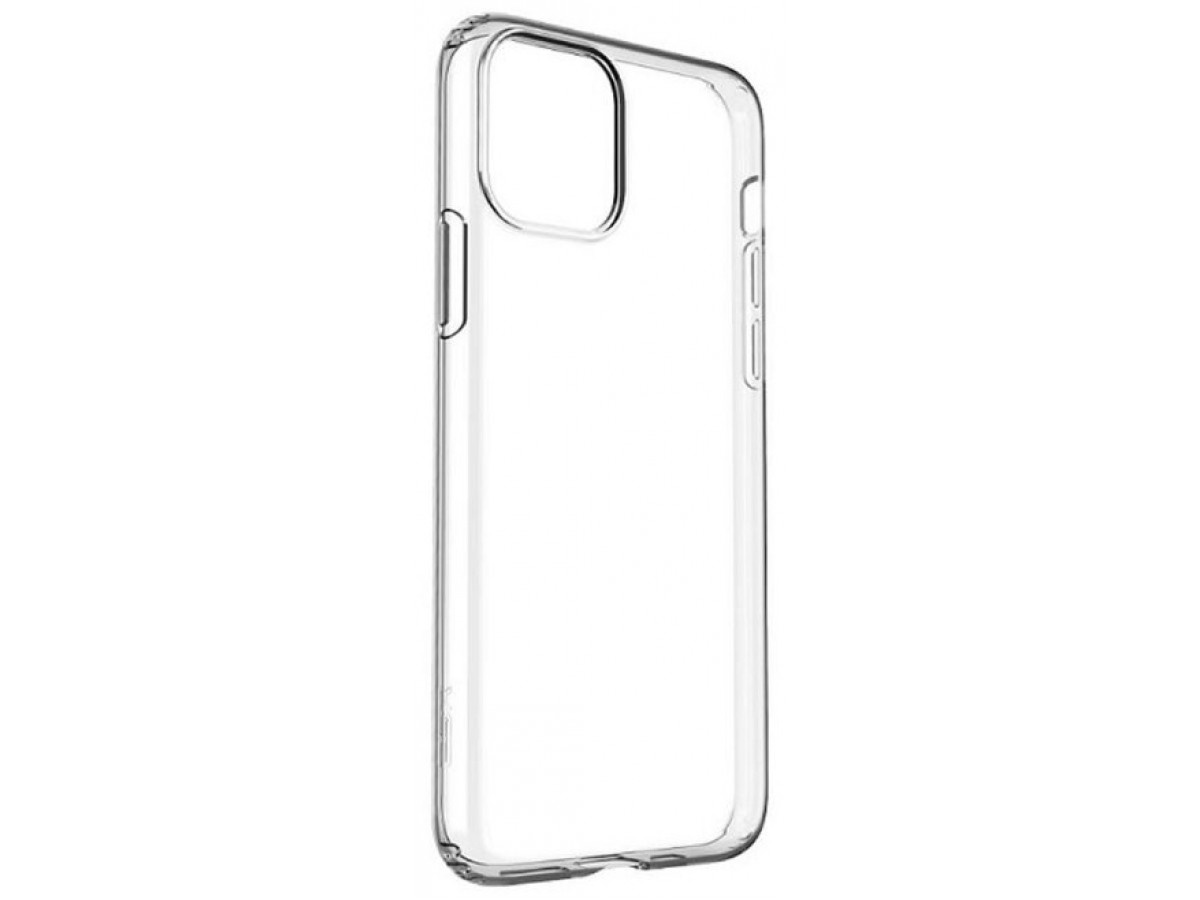 Чехол прозрачный для iPhone 12/12 Pro силиконовый в Тюмени