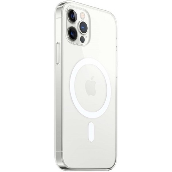 Чехол прозрачный MagSafe для iPhone 12 Pro Max силиконовый
