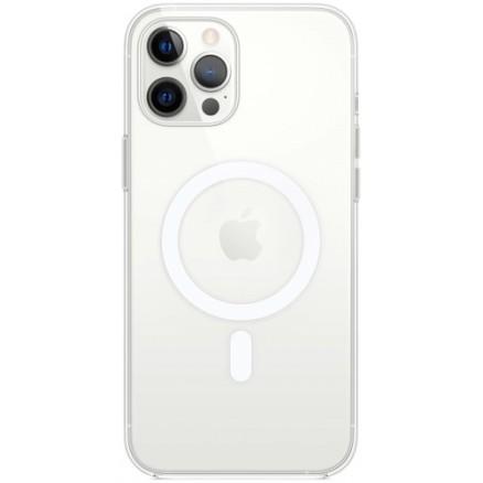 Чехол прозрачный MagSafe для iPhone 12 Pro Max силиконо...