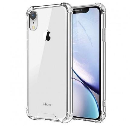 Чехол противоударный с бортиками для iPhone XR силиконо...