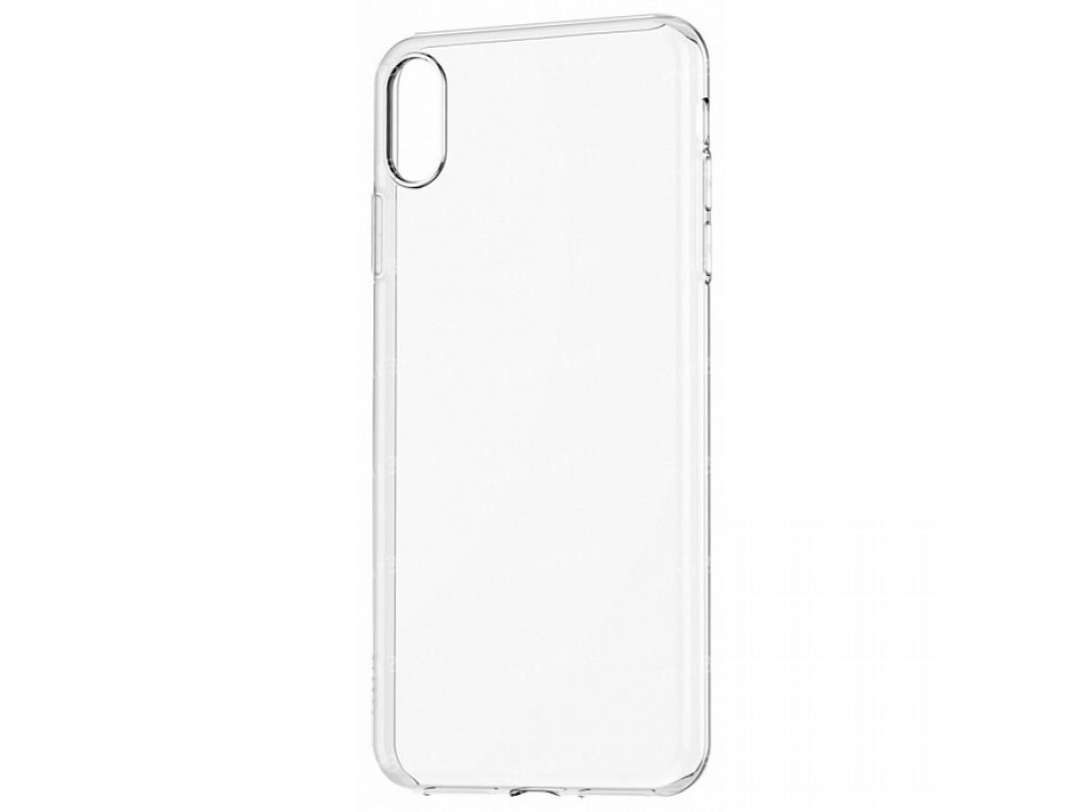 Чехол прозрачный для iPhone XR силиконовый в Тюмени