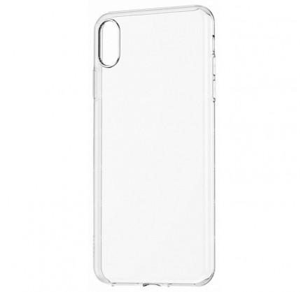 Чехол прозрачный для iPhone XR силиконовый