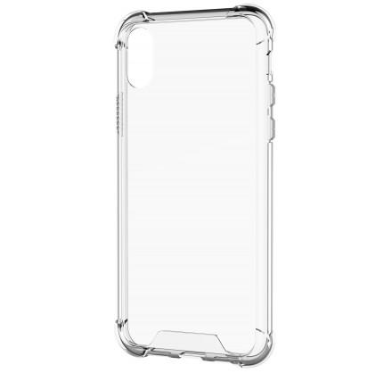 Чехол противоударный с бортиками для iPhone X/Xs силико...