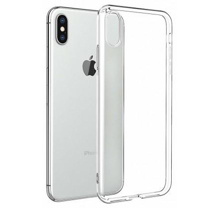 Чехол прозрачный для iPhone Xs Max силиконовый