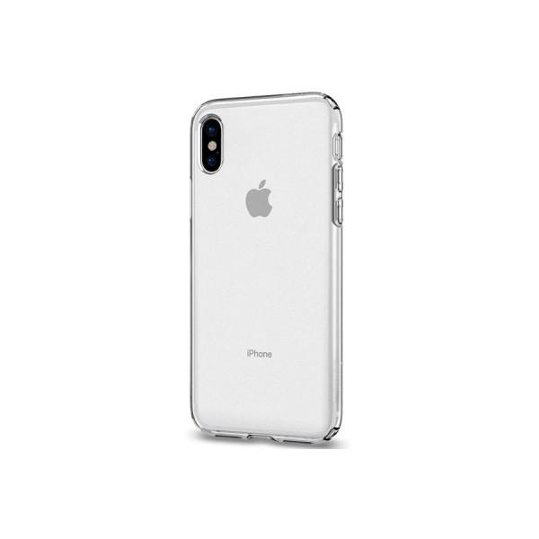 Чехол прозрачный для iPhone X/Xs силиконовый