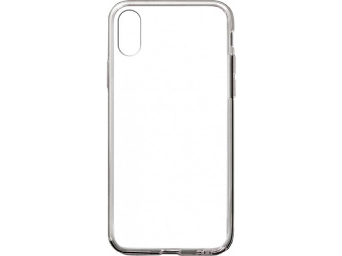 Чехол прозрачный для iPhone X/Xs силиконовый в Тюмени