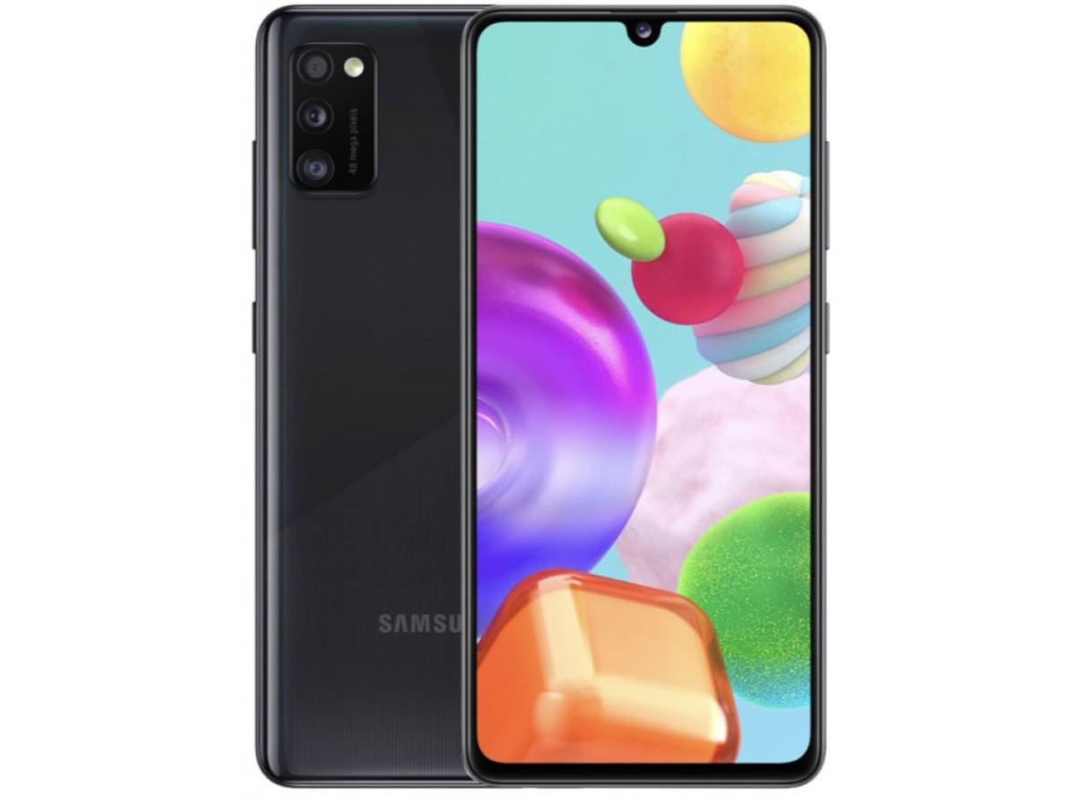 Samsung Galaxy A41 64GB черный в Тюмени