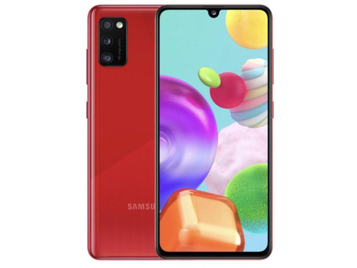Samsung Galaxy A41 64GB красный в Тюмени