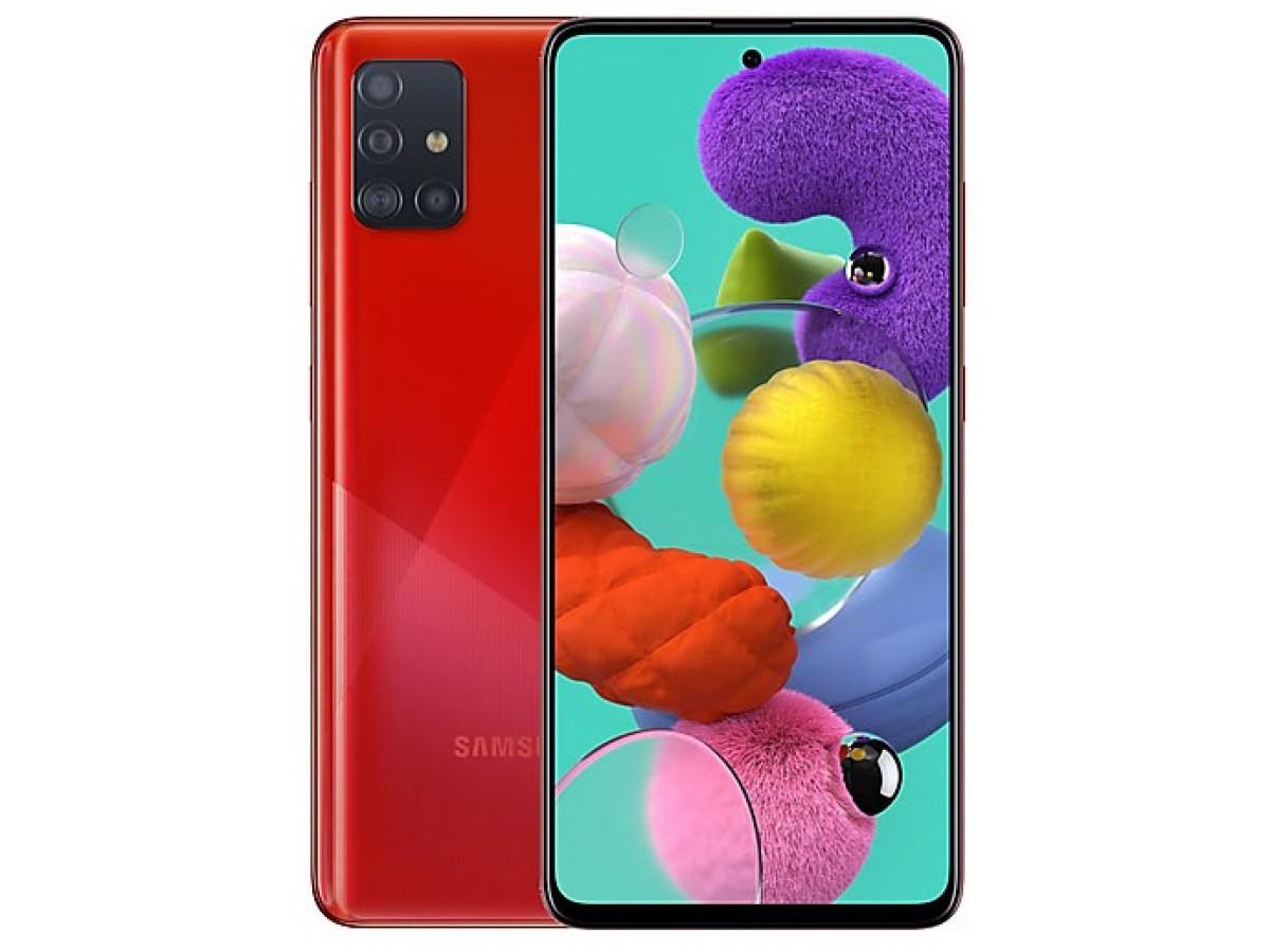Samsung Galaxy A51 64GB красный в Тюмени