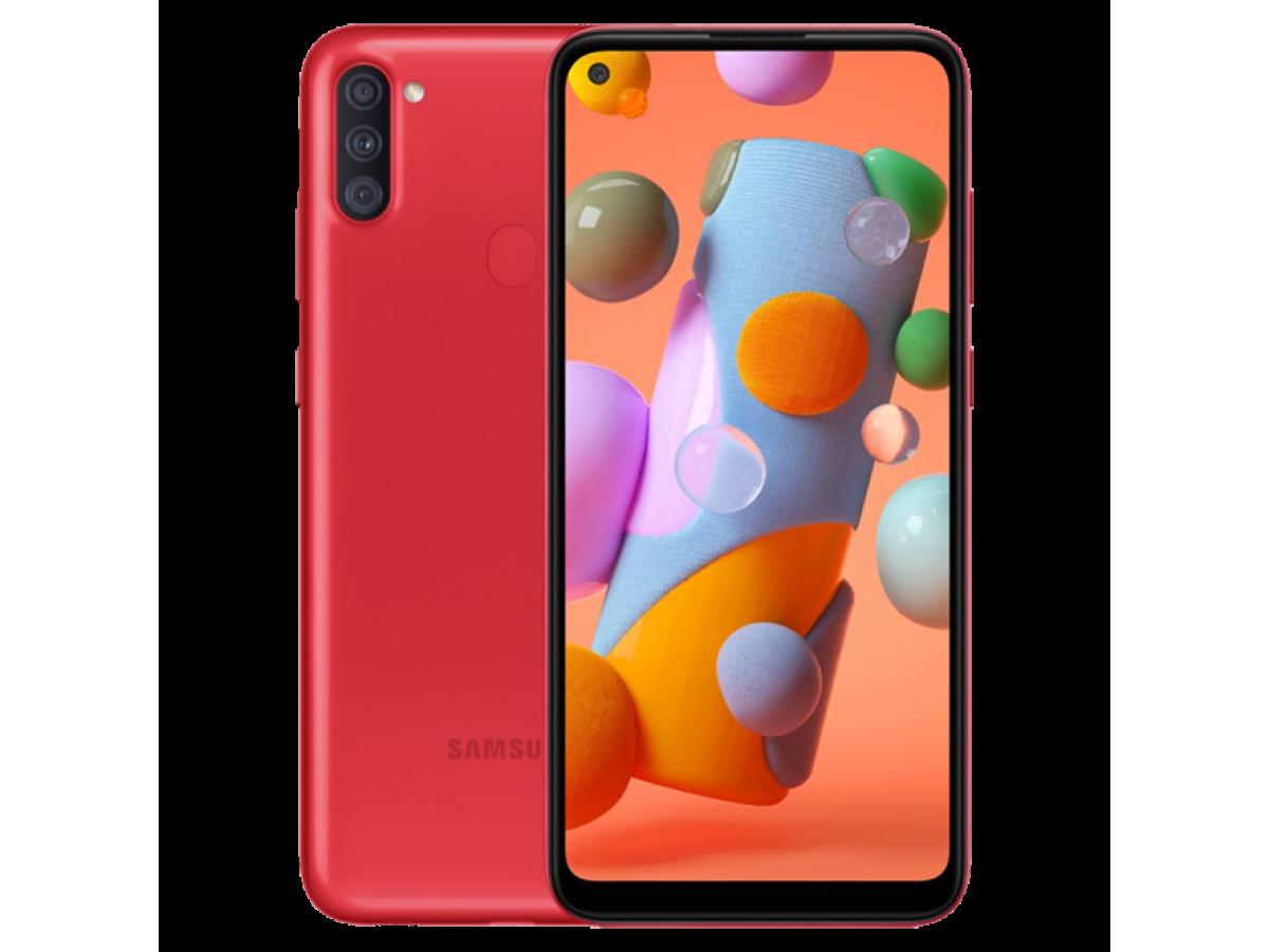 Samsung Galaxy A11 32GB (красный) в Тюмени