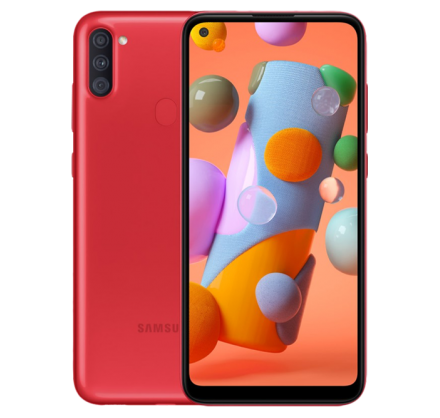 Samsung Galaxy A11 32 GB (красный)