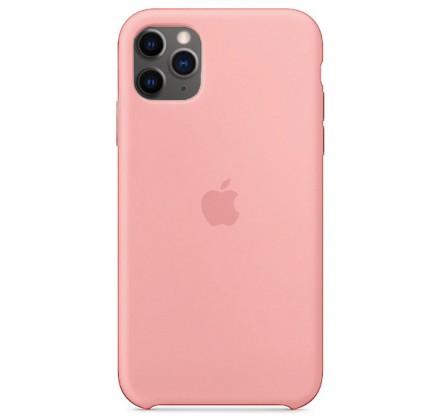 Чехол Silicone Case (С) iPhone 11 Pro персиковый