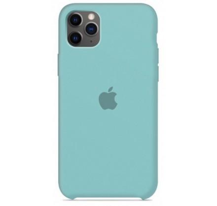 Чехол Silicone Case (С) iPhone 11 Pro бирюзовый