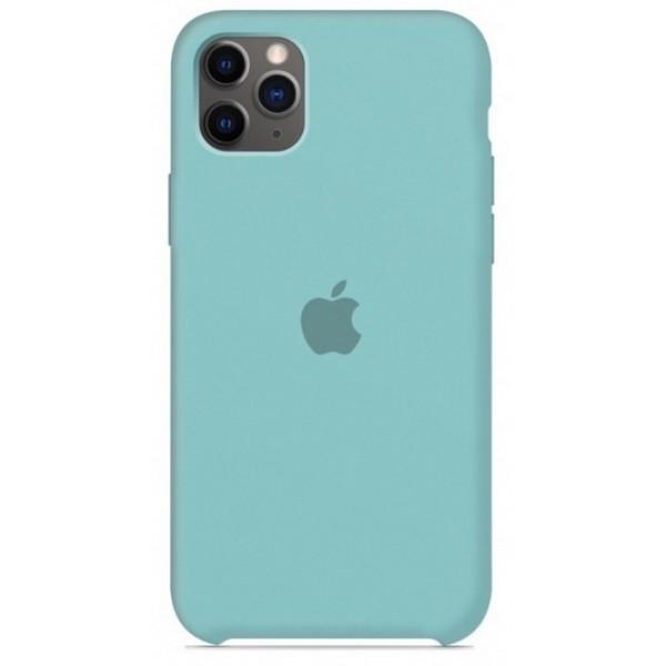 Чехол Silicone Case для iPhone 11 Pro бирюзовый