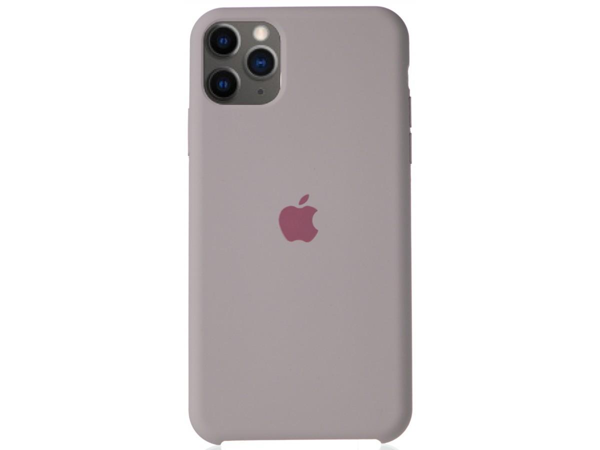Чехол Silicone Case для iPhone 11 Pro Max бледно-лиловый в Тюмени