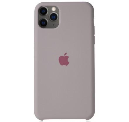Чехол Silicone Case для iPhone 11 Pro Max бледно-лиловы...