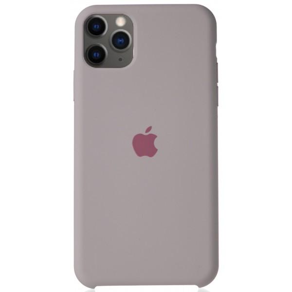 Чехол Silicone Case для iPhone 11 Pro Max бледно-лиловый