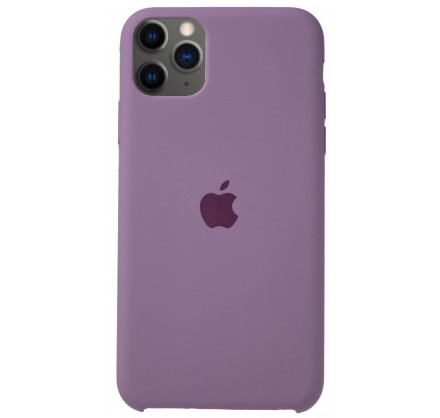 Чехол Silicone Case для iPhone 11 Pro Max черничный