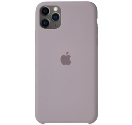 Чехол Silicone Case для iPhone 11 Pro Max лавандовый