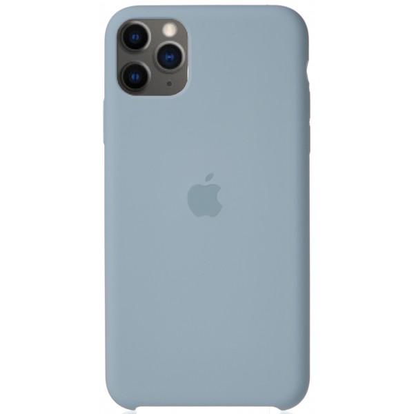 Чехол Silicone Case для iPhone 11 Pro Max светло-голубой