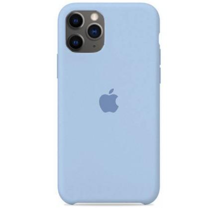 Чехол Silicone Case (С) iPhone 11 Pro светло голубой