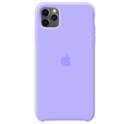 Чехол Silicone Case (С) iPhone 11 Pro сиреневый
