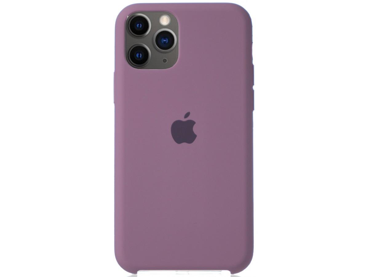 Чехол Silicone Case для iPhone 11 Pro черничный в Тюмени