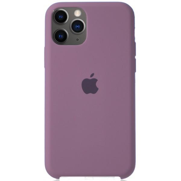 Чехол Silicone Case для iPhone 11 Pro черничный