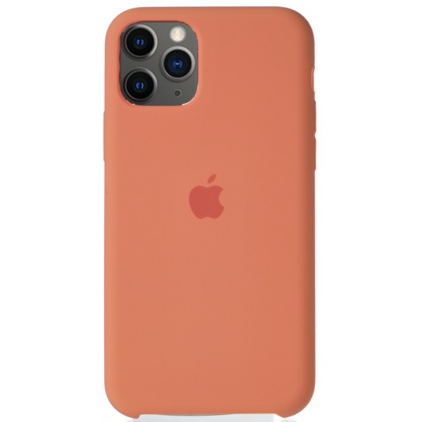 Чехол Silicone Case для iPhone 11 Pro персиковый