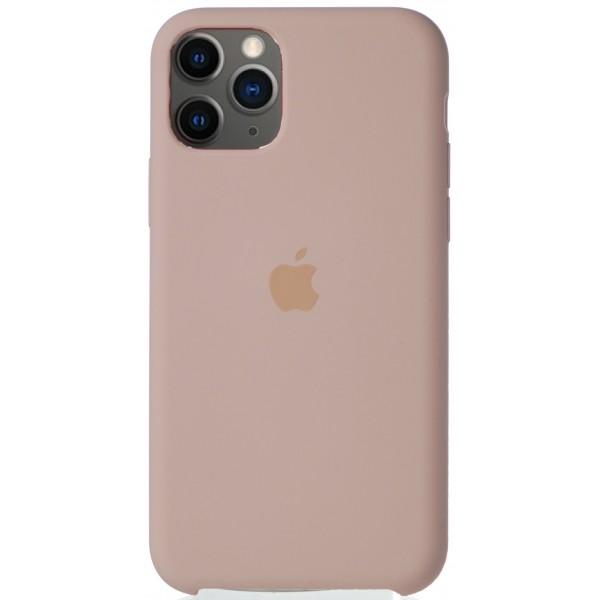 Чехол Silicone Case для iPhone 11 Pro светло-розовый