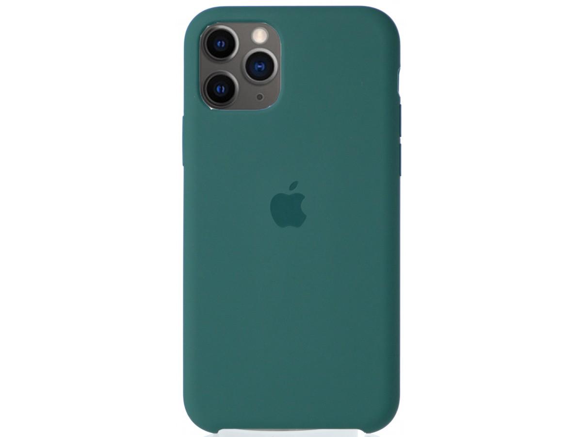 Чехол Silicone Case для iPhone 11 Pro зеленый в Тюмени