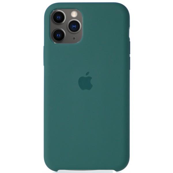 Чехол Silicone Case для iPhone 11 Pro зеленый
