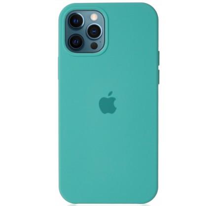 Чехол Silicone Case для iPhone 12/12 Pro бирюзовый
