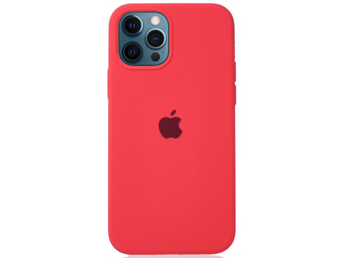 Чехол Silicone Case для iPhone 12/12 Pro розовый цитрус в Тюмени