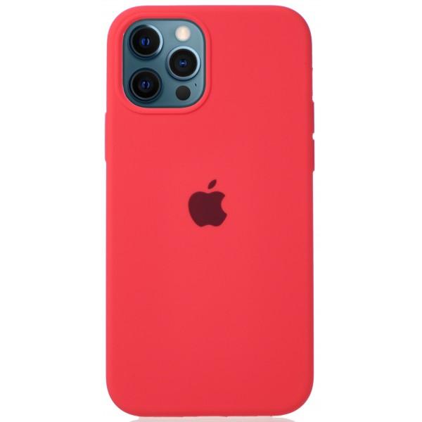 Чехол Silicone Case для iPhone 12/12 Pro розовый цитрус