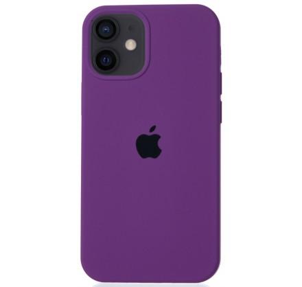 Чехол Silicone Case для iPhone 12 mini сиреневый