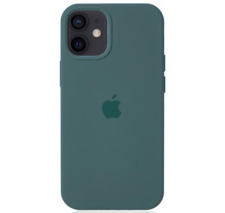 Чехол Silicone Case для iPhone 12 mini зеленый