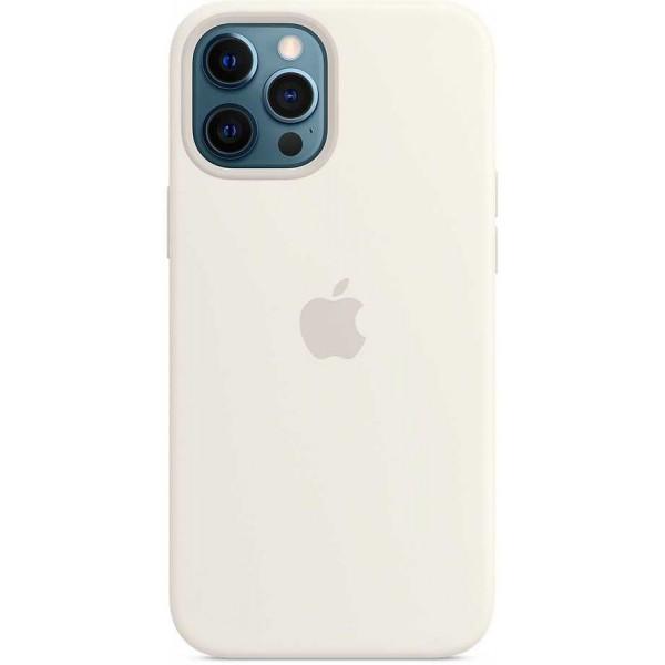 Чехол Silicone Case для iPhone 12 Pro Max белый