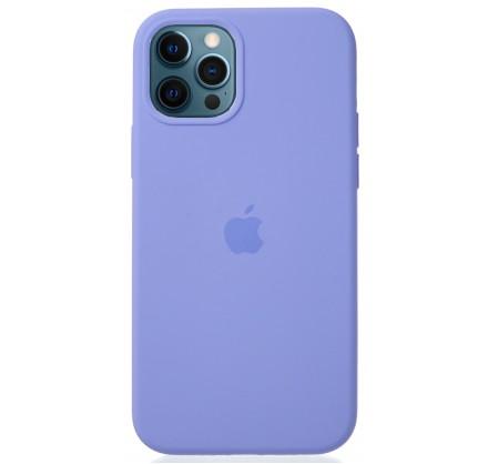 Чехол Silicone Case для iPhone 12/12 Pro лиловый