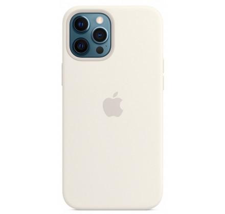 Чехол Silicone Case для iPhone 12/12 Pro белый