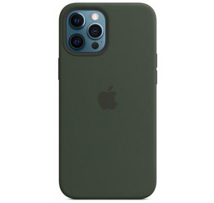 Чехол Silicone Case для iPhone 12 Pro Max зеленый