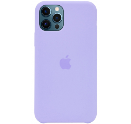 Чехол Silicone Case для iPhone 12/12 Pro лавандовый