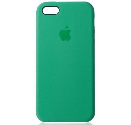 Чехол Silicone Case для iPhone 5/5s/SE зеленый