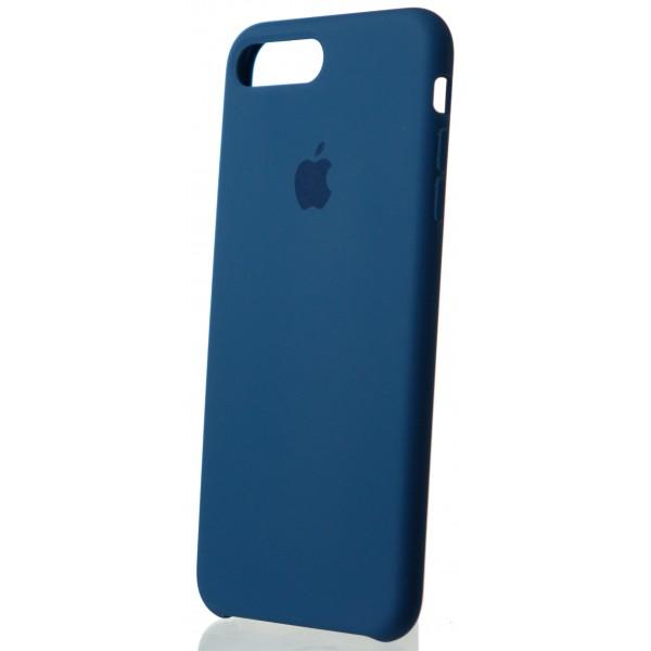 Чехол Silicone Case качество Lux для iPhone 7 Plus/8 Plus синий