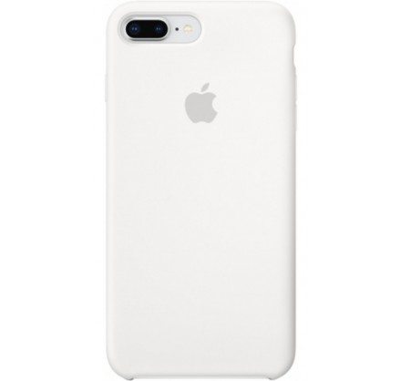 Чехол Silicone Case для iPhone 7/8 Plus белый