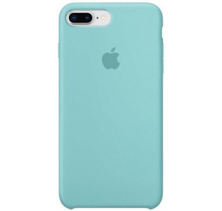 Чехол Silicone Case для iPhone 7/8 Plus бирюзовый