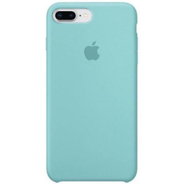 Чехол Silicone Case качество Lux для iPhone 7 Plus/8 Plus бирюзовый